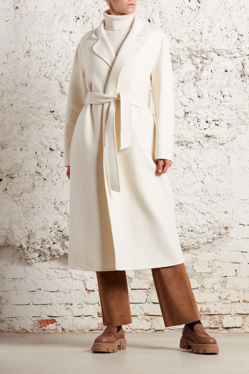 CAPPOTTO LUNGO DOUBLE - LEAKD430890