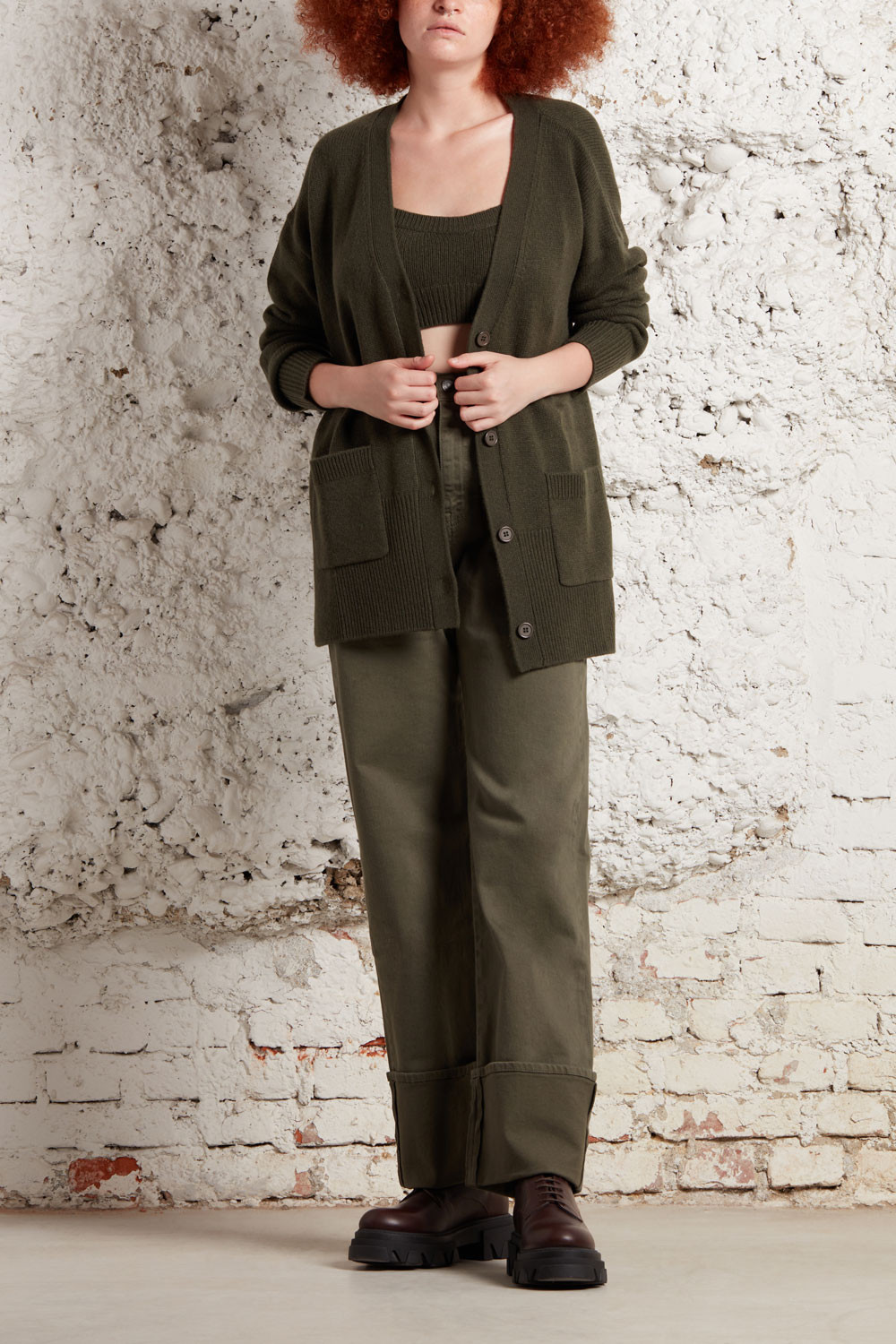CARDIGAN WITH POCKETS - LIKED520696