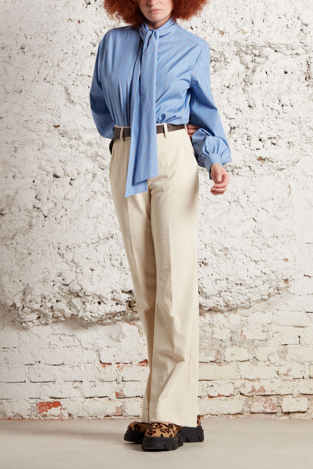 SHIRT WITH BOW - CLIOD381047