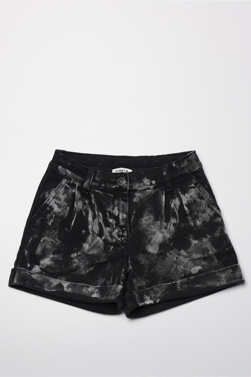 MARBLE TIE-DYE SHORTS - CHIWIK210097