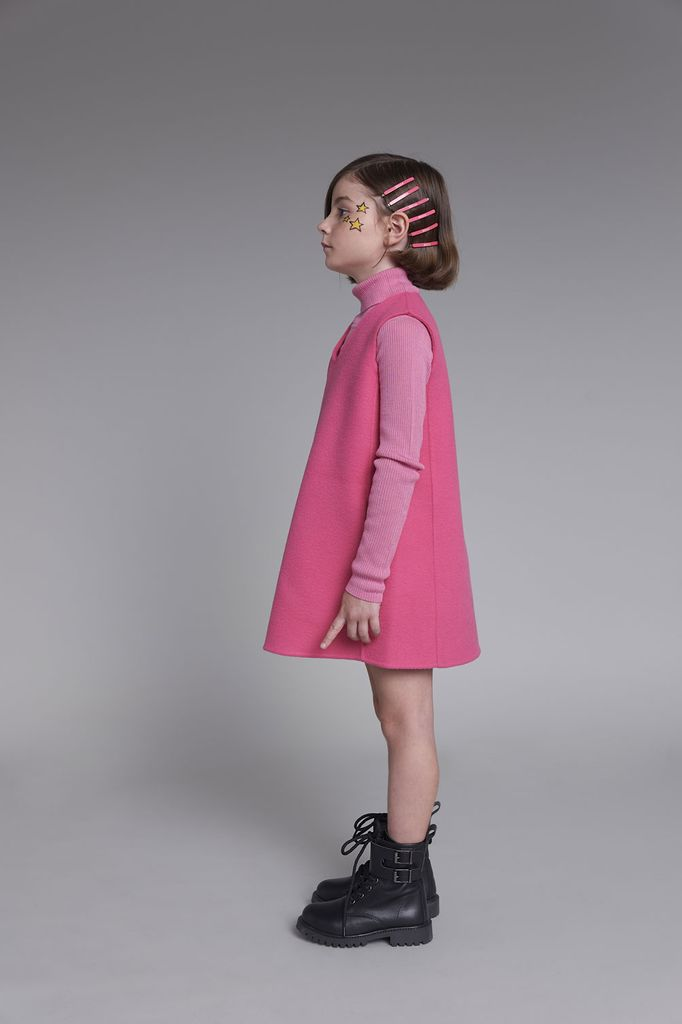 TURTLE NECK RIBBED KNITWEAR - LEILAK512552X